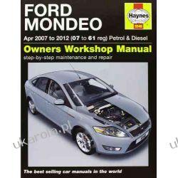 Ford Mondeo Petrol & Diesel Service and Repair Manual: 2007-2012 (Haynes Service and Repair Manuals) Lotnictwo