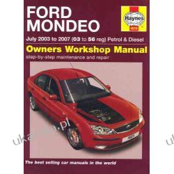 Ford Mondeo Petrol and Diesel Service and Repair Manual: 2003 to 2007 (Haynes Service and Repair Manuals)