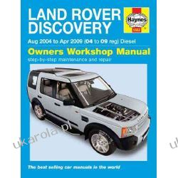 Land Rover Discovery Diesel Service and Repair Manual: 04-09 (Haynes Service and Repair Manuals) Pozostałe