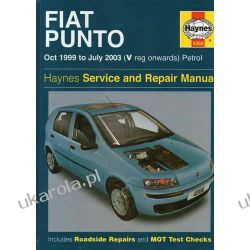 Fiat Punto Petrol Service and Repair Manual: Oct 1999 to July 2003 (Haynes Service and Repair Manuals) Projektowanie i planowanie ogrodu