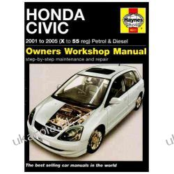 Honda Civic Petrol and Diesel Service and Repair Manual: 2001 to 2005 (Haynes Service and Repair Manuals) Pozostałe