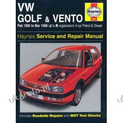 VW Golf and Vento Service and Repair Manual: Petrol and Diesel 1992 to 1998 (Haynes Service and Repair Manuals) Lotnictwo