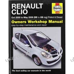 Renault Clio Petrol and Diesel Service and Repair Manual: 2005 to 2009 (Haynes Service and Repair Manuals) Literatura