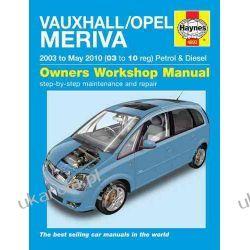 Vauxhall/Opel Meriva Petrol & Diesel Service and Repair Manual: 2003 to 2010 (Haynes Service and Repair Manuals) Kalendarze ścienne