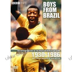 Boys From Brazil: The Official History of the Brazilian World Cup Team 1930-1986 [DVD] Pozostałe