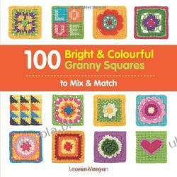 100 Bright & Colourful Granny Squares to Mix & Match Kalendarze ścienne