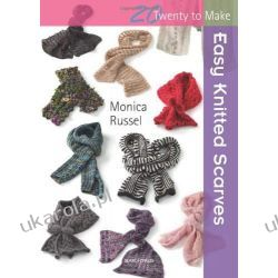 Easy Knitted Scarves Kalendarze ścienne