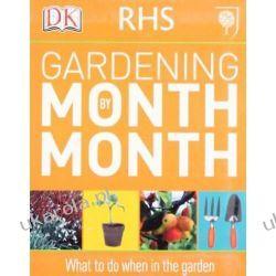 RHS Gardening Month by Month Kalendarze ścienne