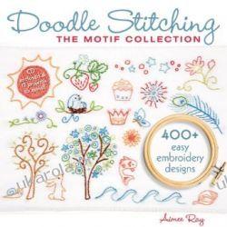 Doodle Stitching: The Motif Collection Kalendarze ścienne