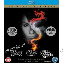 The Girl Who... Millennium Trilogy (Extended Versions) [Blu-ray] Płyty Blu-ray
