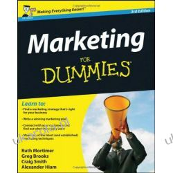 Marketing For Dummies Biznes, praca, prawo, finanse