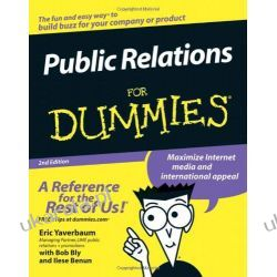 Public Relations For Dummies Biznes, praca, prawo, finanse