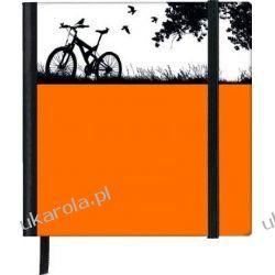 Notatnik SoftTouch Notebook Square 10x10 Bike