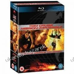 Mission Impossible Ultimate Missions Collection (Mission Impossible / Mission Impossible II / Mission Impossible III) [Blu-ray] Kalendarze ścienne