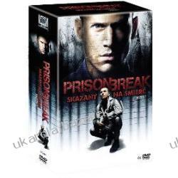Prison Break Skazany na śmierć Sezon 1 BOX 6DVD Marynarka Wojenna