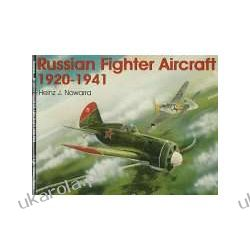 Russian Fighter Aircraft 1920-1941 (Schiffer Military History) Zagraniczne