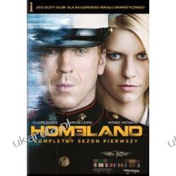 Homeland kompletny sezon 1 4DVD Kalendarze ścienne