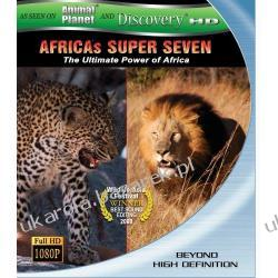 Africas Super Seven (Discovery HD Theater) [Blu-ray] Pozostałe