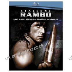 Rambo 1-3 Boxset [Blu-ray] First Blood  Rambo: First Blood Part II  Rambo III