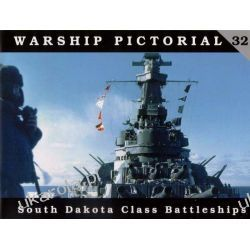 Warship Pictorial No. 32 - South Dakota Class Battleships  Samochody