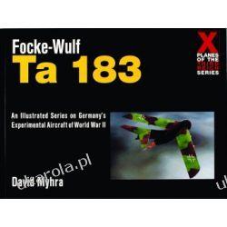 Focke-Wulf Ta 183 X planes of the Third Reich