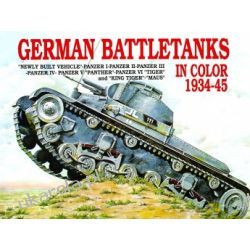 German Battle Tanks in Color  Kalendarze ścienne
