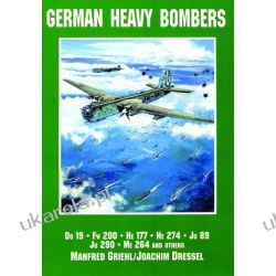 German Heavy Bombers: Do 19, Fw 200, He 177, He 274, Ju 89, Ju 290, Me 264 and others Kalendarze ścienne
