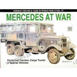 German Trucks & Cars in WWII Vol.IV: Mercedes At War Reinhard Frank  Zestawy, pakiety