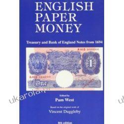 English Paper Money Kalendarze ścienne