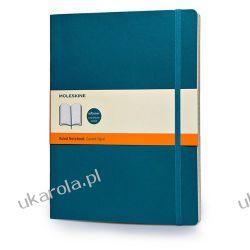 Moleskine Soft Extra Large Underwater Blue Ruled Notebook Pozostałe