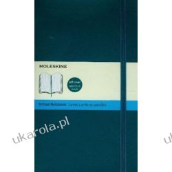 Moleskine Soft Underwater Blue Large Dotted Notebook Kalendarze ścienne