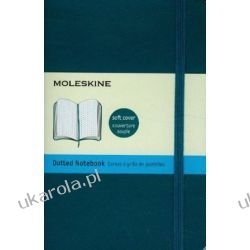 Moleskine Soft Cover Underwater Blue Pocket Dotted Notebook Historyczne