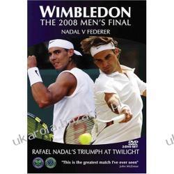 Wimbledon The 2008 Finals Nadal vs. Federer Widescreen tennis DVD Pozostałe