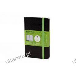Pocket Squared Black Hard Evernote Notebook Kalendarze ścienne