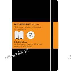 Moleskine Soft Xlarge Ruled Notebook notes w linie wielki notatnik Kalendarze ścienne