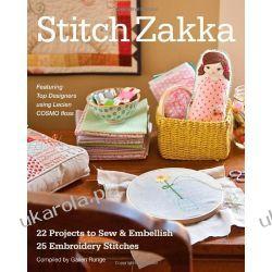 Stitch Zakka: 22 Projects to Sew & Embellish Kalendarze ścienne