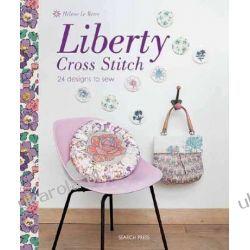 Liberty Cross Stitch: 24 Designs to Sew Kalendarze ścienne