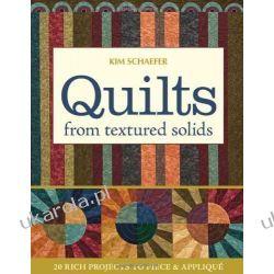 Quilts from Textured Solids Kalendarze ścienne