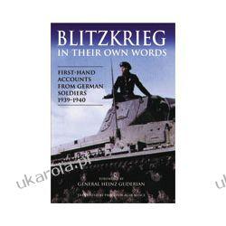 Blitzkreig In Their Own Words (Hardback) Kalendarze ścienne