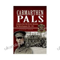 Carmarthen Pals (Hardback)  A History of the 15th (Service) Battalion The Welsh Regiment, 1914-1919 Politycy