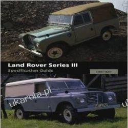 Land Rover Series III Specification Guide Kalendarze ścienne