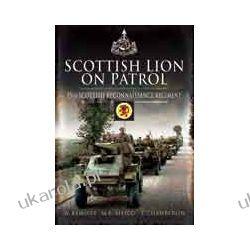 Scottish Lion on Patrol (Hardback)  15th Scottish Reconnaissance Regiment Pozostałe