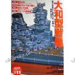 IJN BATTLESHIP YAMATO CLASS PICTORIAL BOOK GAKKEN REKISHI GUNZO 11 Biografie, wspomnienia