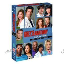 Grey's Anatomy - Season 3 [DVD] Chirurdzy sezon trzeci Samochody