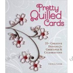 Pretty Quilled Cards Kalendarze ścienne