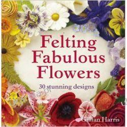 Felting Fabulous Flowers Kalendarze książkowe