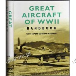 Great Aircraft of WWII Handbook with Cutaway Diagrams Kalendarze ścienne
