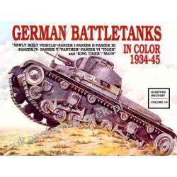 German Battle Tanks in Color Schiffer Military Horst Scheibert Kalendarze ścienne