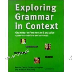Exploring Grammar in Context: Upper-intermediate and Advanced Kalendarze ścienne