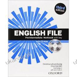 English File third edition: Pre-intermediate: Workbook with key and iChecker Marynarka Wojenna